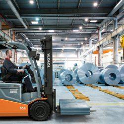 Afbeelding Toyota elektrische heftruck